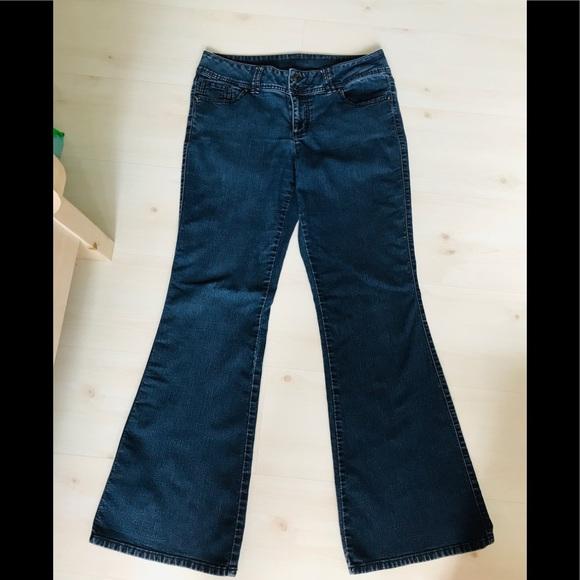 Elle Denim - ELLE jeans, dark wash, bootcut. EUC size 12
